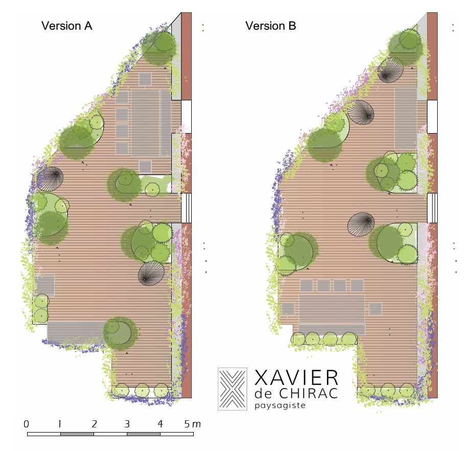 xavier de chirac jardin en ville xavier de chirac ct maison projets landscaping pinterest. Black Bedroom Furniture Sets. Home Design Ideas