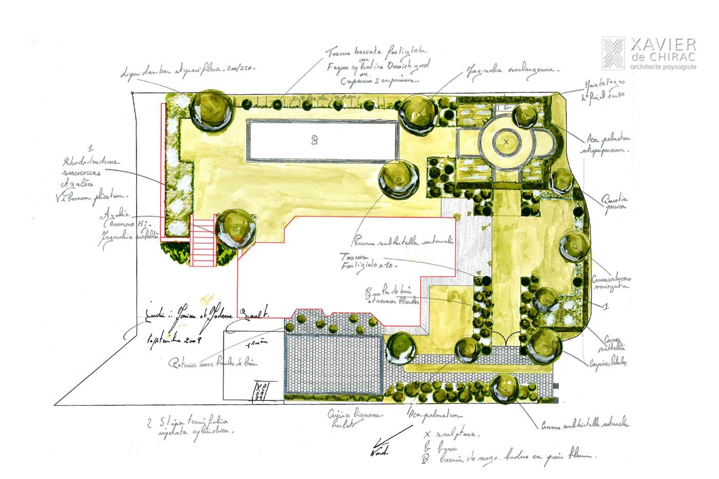 dessin-concept jardin terrasse