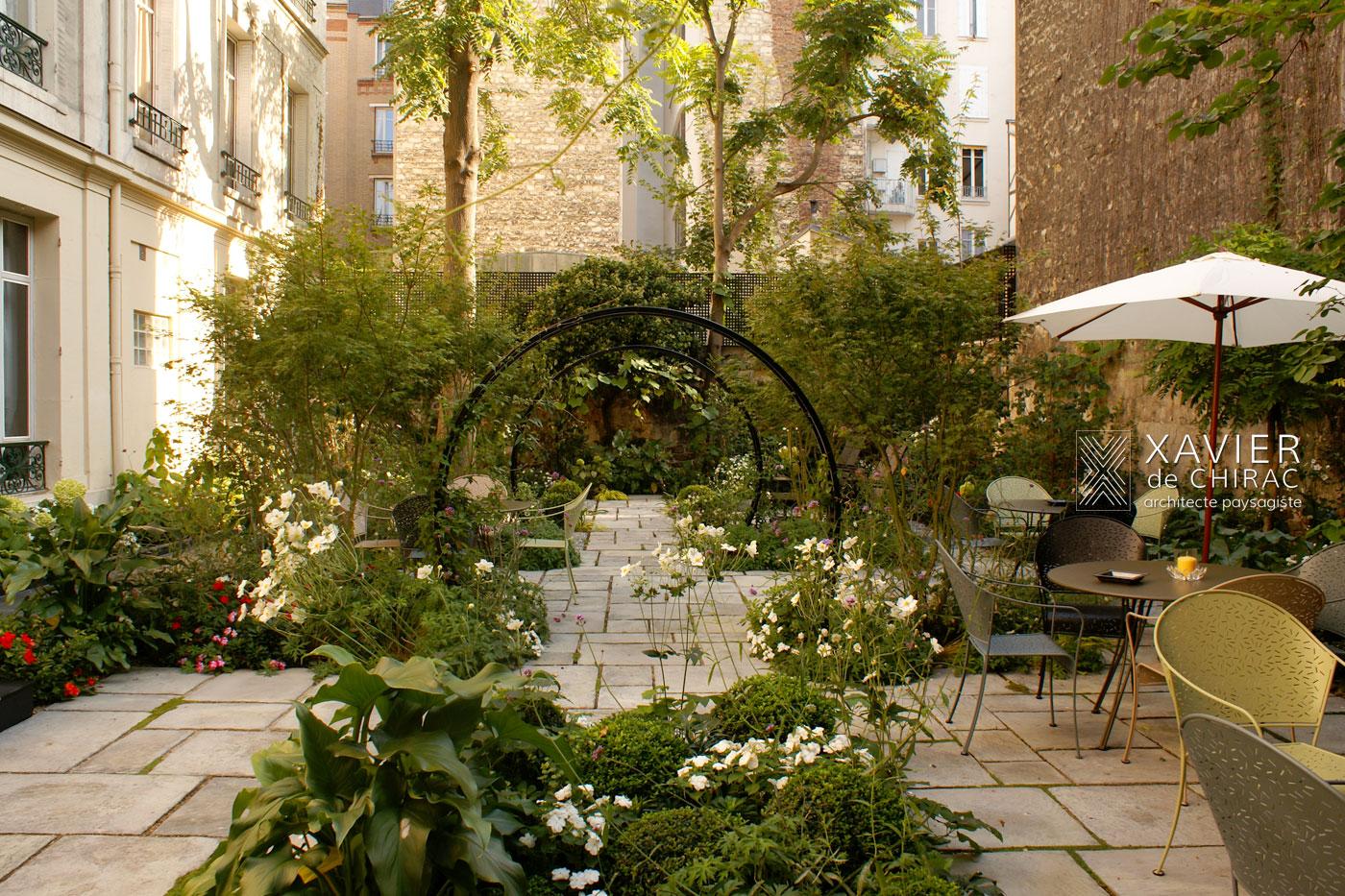 jardin de hotel regent