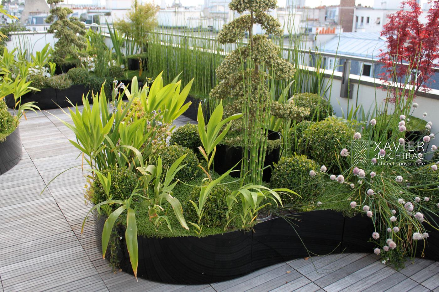 terrasse noire
