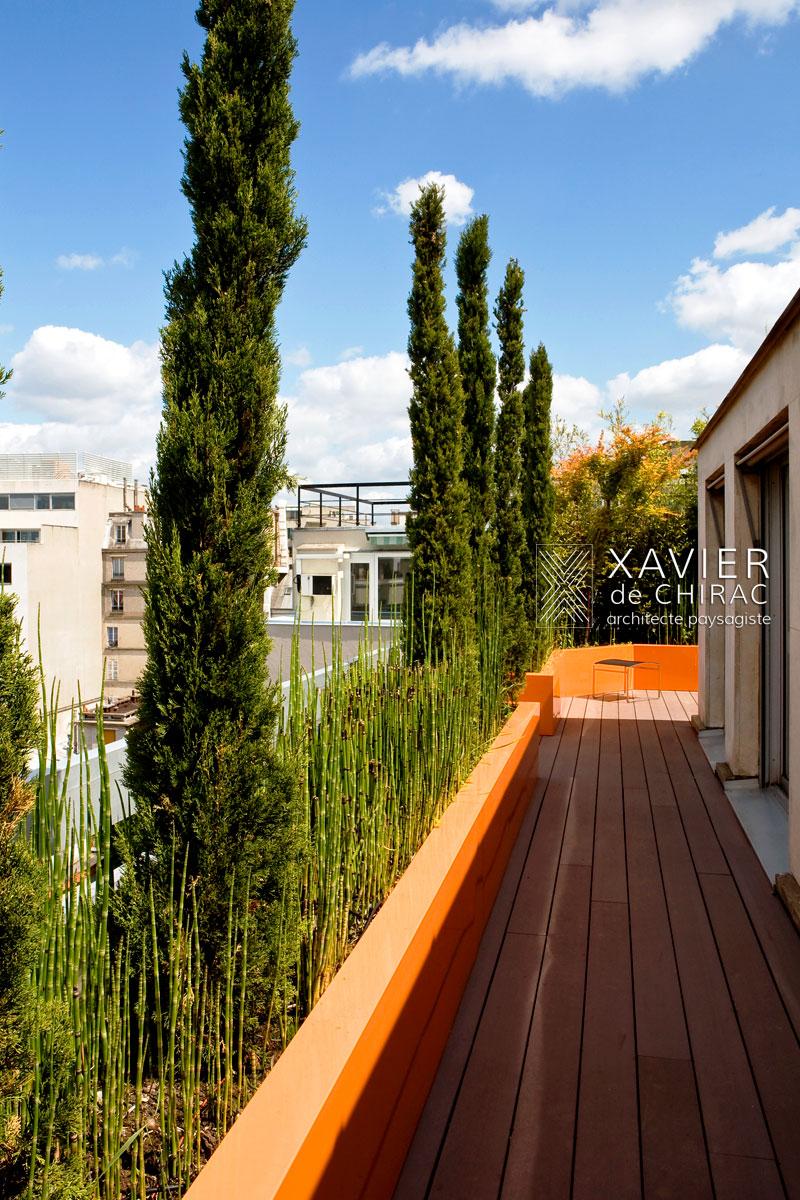 Terrasse moderne xavier de chirac for Photo de terrasse moderne