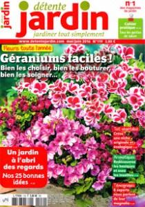 magazine détente jardin