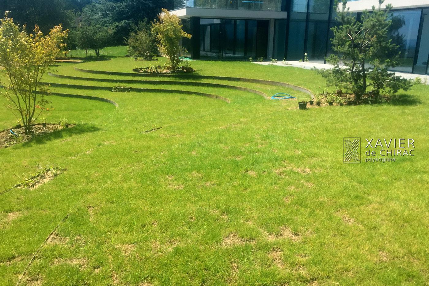 Xavier de Chirac, naissance d'un jardin