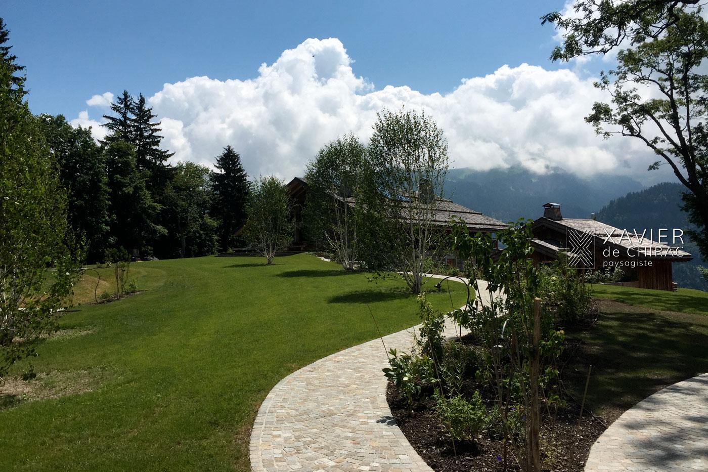 Xavier de Chirac, la maison à la montagne