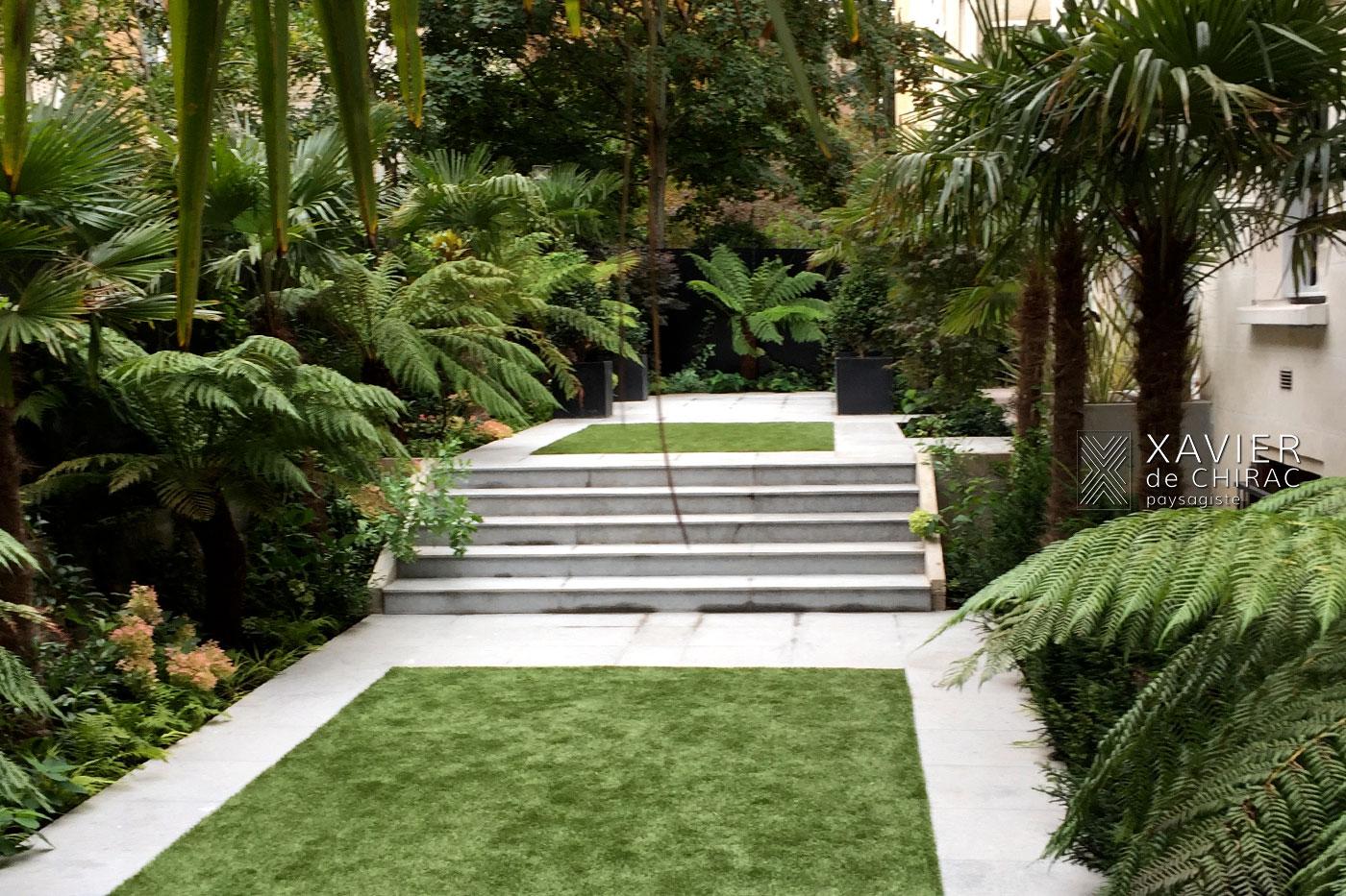 jardin des plantes exotiques xavier de chirac paysagiste