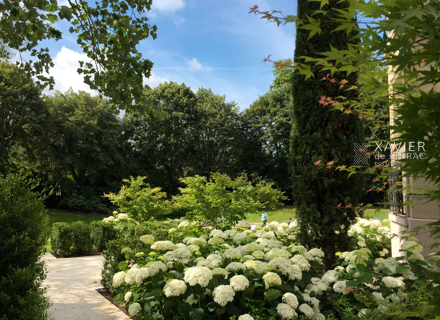 Xavier de Chirac paysagiste : jardin classique