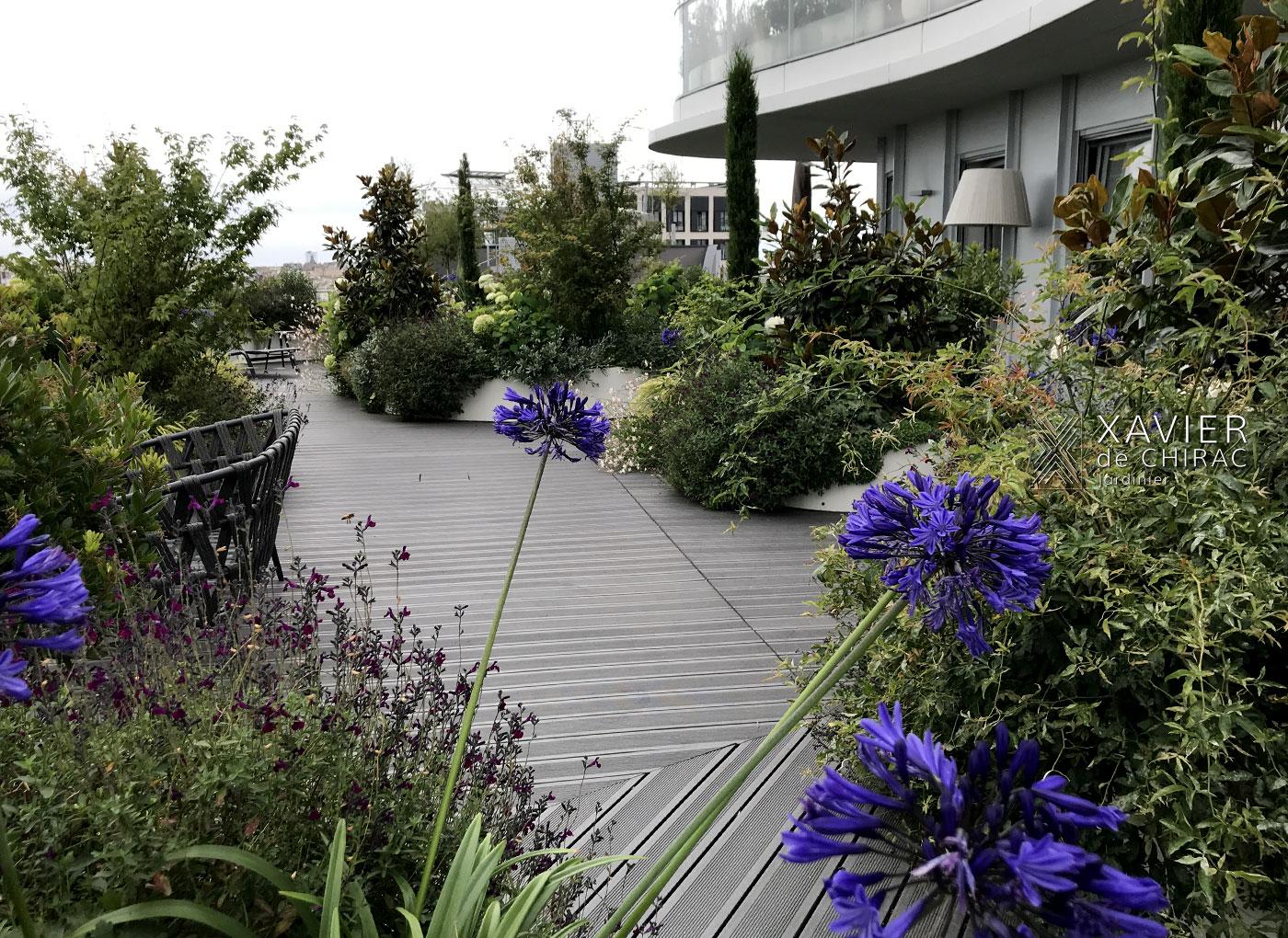 jardin d'ancien atelier xavier de chirac jardinier
